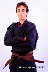 Kimono Hapkido  preto